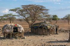 Village manyatta, Olturot, Marsasbit, Northern Kenya.