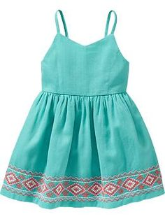 Cami Dresses for Baby: $16, available in sizes 12 months to 5 years. Old Navy: $, local Cville franchise