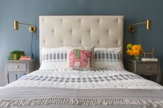 Stephanie wanted a space that was clean, organized, colorful, and personal. Working collaboratively with her designer Annie, the Brooklyn 1-bedroom was properly transformed. See the space in the slideshow!