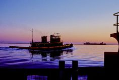 What a gorgeous tug boat photo - We use water for everything from transportation to commerce to toilet flushing and drinking.