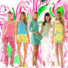 Lilly Pulitzer NEW Spring Arrivals- receive earrings with any purchase today only.