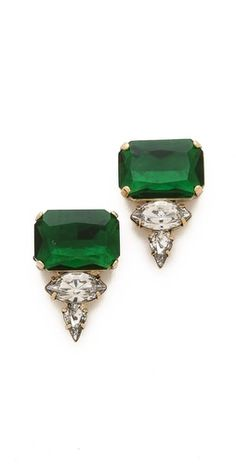 Noir Jewelry Crystal Stud Earrings | SHOPBOP