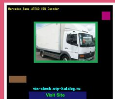 Mercedes Benz ATEGO VIN Decoder - Lookup Mercedes Benz ATEGO VIN number. 165558 - Mercedes-Benz. Search Mercedes Benz ATEGO history, price and car loans.
