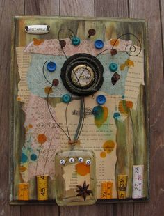 Expect Miracles mixed media 3D found by Steamwhistlesdesigns, $45.00