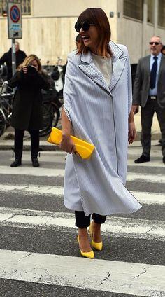 Milano Fashion Week | Street Style - Street Style - Vogue Portugal