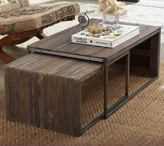 tutorial for creating this anthro inspired coffee table