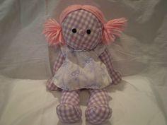 "Vintage Romper Room 15"" Sweet Dreams ""Amanda"" 1973 Hasbro Softies Doll"
