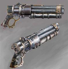 steampunk gun   Tumblr