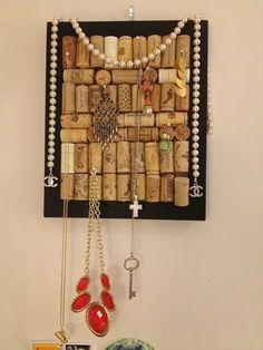 Great idea for a jewelry holder!  letstalktwenties.com