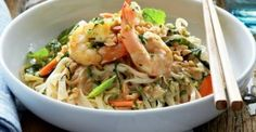 Curtis' Vietnamese-style rice noodles with prawns   TASTYSHARE