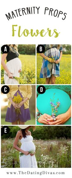 Flowers for a Maternity Photo Shoot                                                                                                                                                                                 More