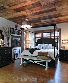 DIY wood-planked ceiling in two weekends