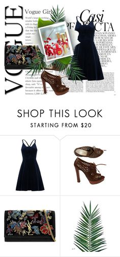 """Untitled #337"" by michelle-d-1 ❤ liked on Polyvore featuring Whiteley, Whistles, Prada, Yves Saint Laurent and Nika"