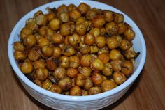 Dill Pickle Roasted Chickpeas (Oil-Free)   Kid Tested Firefighter Approved