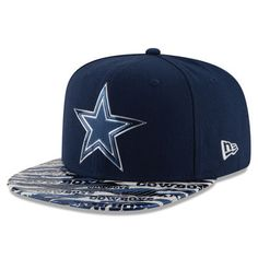 8e4dc503add9 Cowboys New Era Color Rush Reverse 9FIFTY Snapback Adjustable Hat - Navy