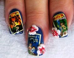 nail pics from hawaii - Yahoo Search Results
