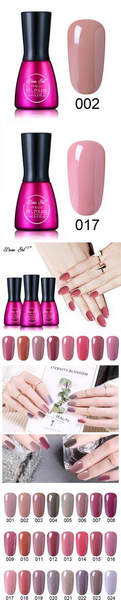 Beau Gel 7ML UV Gel Nail Polish Nude Color Nail Gel Polish Vernis Semi Permanent Nail Primer Nail Varnishes Gel Lak Lacquer