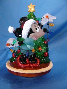 Minnie Mouse Christmas Tree Nightlight night light Disney #Costco #Nightlight
