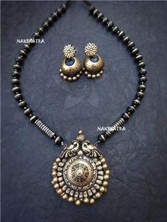 Necklace – Page 8 – Nakshatra Terracotta Jewellery Jewelry Design Earrings, Funky Jewelry, Necklace Designs, Handmade Jewelry, Silver Jewelry, Terracotta Jewellery Designs, Indian Jewellery Design, Fashion Jewelry Stores, Fashion Jewellery