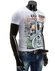 Koszulka męska z krókim rękawem (rx1005) - Dstreet.pl