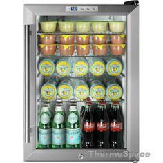 Haier hbcn05fvs 150 can beverage center refrigerator glass door beverage cooler mini fridge compact reach in commercial refrigerator planetlyrics Gallery