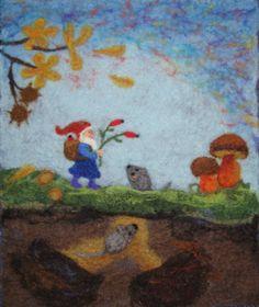 Wollbilder zum Spielen, und Kinderbücher  (Woolpictures to play, and books for children)