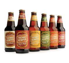 Thomas Kemper Root Beer soda packaging