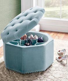Simple Bed Designs, Bed Designs With Storage, Shoe Storage Ottoman, Dorm Storage, Bedroom Closet Design, Home Room Design, Bedroom Ottoman, Sofa Bed Design, Applis Photo