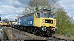 Class 47 47635 Diesel-Electric Jimmy Milne  by graham.wood.14661