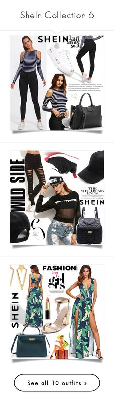 """SheIn Collection 6"" by semiragoletic ❤ liked on Polyvore featuring WithChic and Christian Dior"