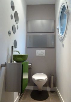 1000 images about d co toilettes on pinterest deco decoration and greys a for Deco wc bleu