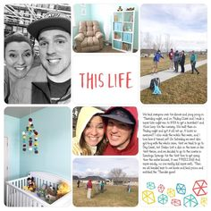 "105 Likes, 2 Comments - Becky Higgins (@projectlifepages) on Instagram: ""Page by @lindsay.tanner in Canada using the #ProjectLifeApp. Cards from the Doodle Edition and…"""
