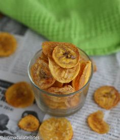 Guilt free plantain chips, anyone? Every now and then it is tricky to make your much loved dishes healthy and nutritious without compromising the taste. Why not start the New Year with a great healthy alternative snack, if you love chips. Just a regular handful of them go a long ways ...