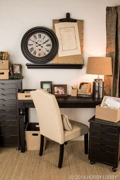 Keep your things in order and make the most of your work space with stylish boxes, baskets and multi-purpose drawer sets that'll help you divide and conquer clutter in no time.