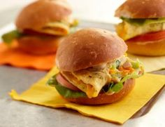 Frittata Sliders | Iowa Food and Family Project Frittata, Serving Size, Places To Eat, Salmon Burgers, Sliders, Iowa, Entrees, Traveling By Yourself, Sandwiches