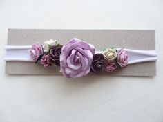Flowers Headband - Rose Headband - newborn headband -  hairband - soft headband -  baby headband mulberry flowers girls flowers crown Rose Headband, Headband Baby, Newborn Headbands, Headbands For Women, Baby Girl Hats, Girl With Hat, Baby Bows, Handmade Gifts For Men, Hospital Gifts