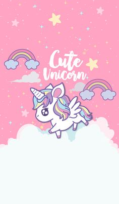 Pin Unicorn Queen On Fav Wallpapers Unicorn Backgrounds throughout The Most Cartoon Unicorn Wallpapers Cartoon Wallpaper, Pink Unicorn Wallpaper, Wallpaper Tumblrs, Unicornios Wallpaper, Unicorn Backgrounds, Wallpaper Fofos, Rainbow Wallpaper, Kawaii Wallpaper, Disney Wallpaper