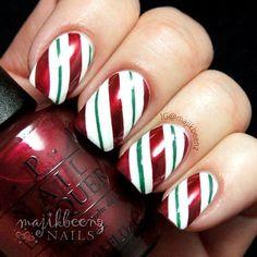 nice Best Christmas Nail Art Designs