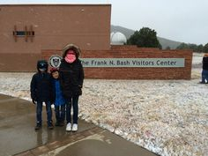 Mt. Locke is 15 degrees colder than Fort Davis. McDonald Observatory, Star Party for kids,