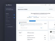 YourMechanic - Appointment View designed by Patryk Zabielski. Connect with them on Dribbble; Web Dashboard, Ui Web, Dashboard Design, My Mechanic, Mobile Ui Design, Application Design, Landing Page Design, Web Design Inspiration, Interactive Design