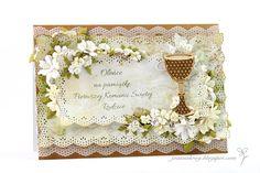 Pamiątka Pierwszej Komunii Świętej / First Holy Communion Card
