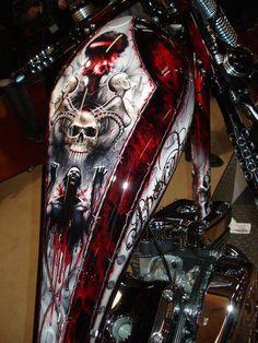 Killer Paint - #harleydavidsontank