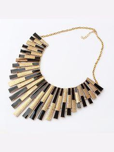 Modern Tassel Alloy Chain Necklace