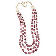 spinal necklace - saffron art auction jewels