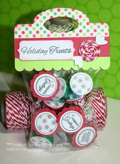 Melisa's Crafty Creations (love the bakers twine peppermint accent)