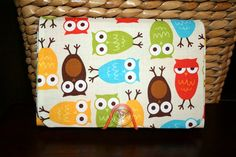 Coupon Holder  Organizer  Keeper    Urban Zoologie Owls by Laa766, $13.50