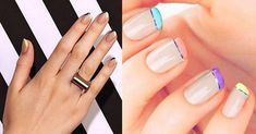 Hottest Nail Trends For Fall/Winter 2016 galliko manicure xroma #FrenchManicureGelNails French Manicure Gel Nails, Hot Nails, Nail Trends, Fall Winter, Beauty, Beleza, Cosmetology