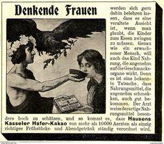 Original-Werbung/ Anzeige 1903 - HAUSENS KASSELER HAFER KAKAO - Ca. 90 X 80 Mm - Werbung