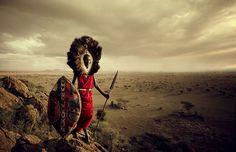 Maasai, Tanzania | Stunning Portraits Of The World's Remotest Tribes