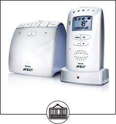 Philips AVENT - Vigilabebé (DECT babyphone, 120 channels, 330 m, Color blanco, Digital, 24 h)  ✿ Vigilabebés - Seguridad ✿ ▬► Ver oferta: http://comprar.io/goto/B06X9421S8